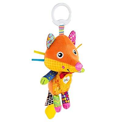 Lamaze Flannery The Fox Clip & Go - Developemental Toy - Visual, Auditory and Tactile Skills : Toys & Games