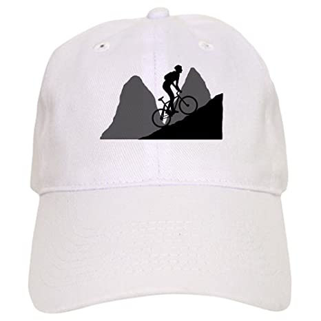 Amazon.com  CafePress - Mountain Biking - Baseball Cap with Adjustable  Closure 2c1a1f6d2ad9