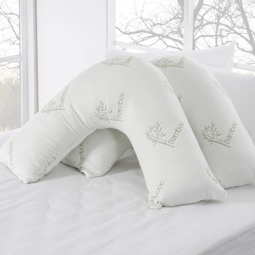 Better Dreams V Shaped Pillow With FREE