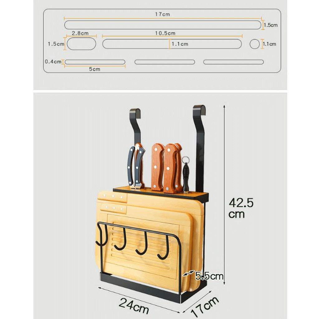 Estante de vajilla Porta Cuchillos de Cocina Suministros de Cocina Porta Cuchillos de Acero Inoxidable: Amazon.es: Hogar