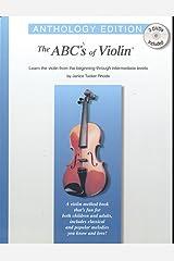 ABCs of Violin: Anthology Edition (Book & 2 DVDs) Paperback