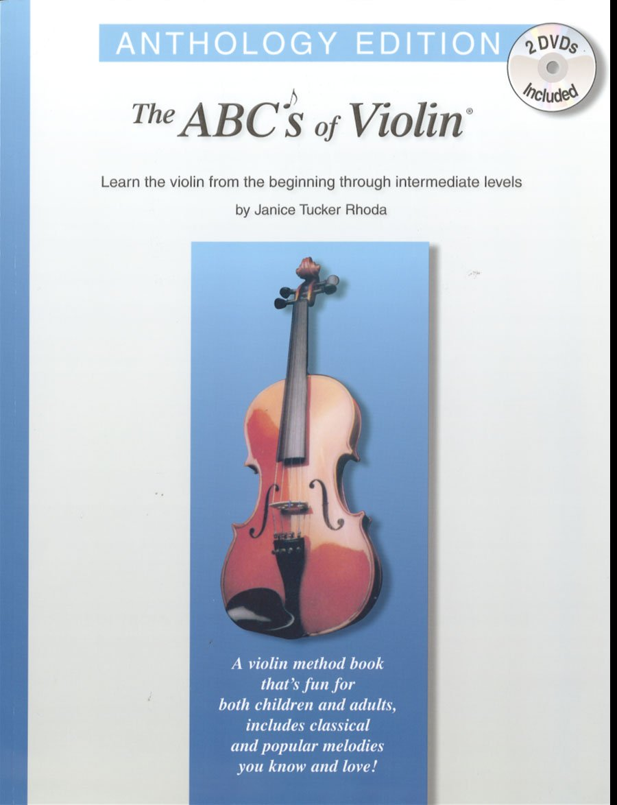 Amazon.com: ABCs of Violin: Anthology Edition (Book & 2 DVDs ...