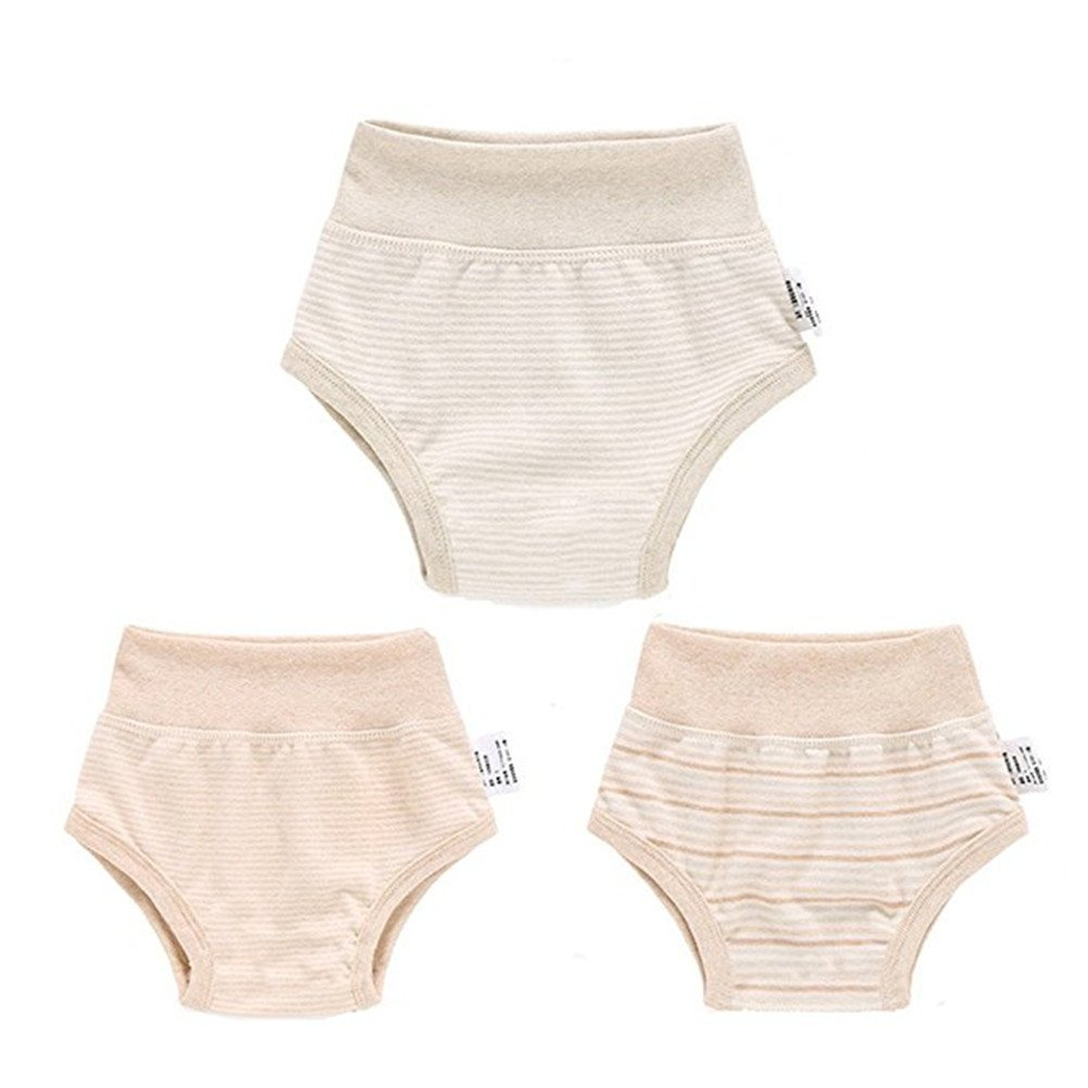 Gemini Fairy Bambino Biancheria Intima 3 Pack Pantaloni in Cotone Biologico