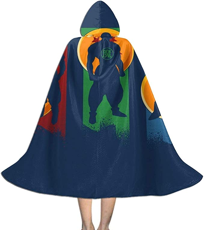 NUJIFGYTCRD Capa con Capucha para Disfraz de Dragonball Z Goku ...