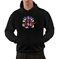 Toronto Raptors Licensed NBA New Circle Logo Hoodie Black