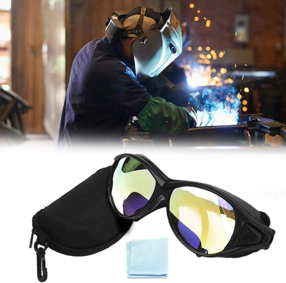 Dynamicoz Gafas de protección Profesional para los Ojos Gafas de Seguridad Transparentes Láser de CO2 10600 NM OD de Doble Capa transferable Charming