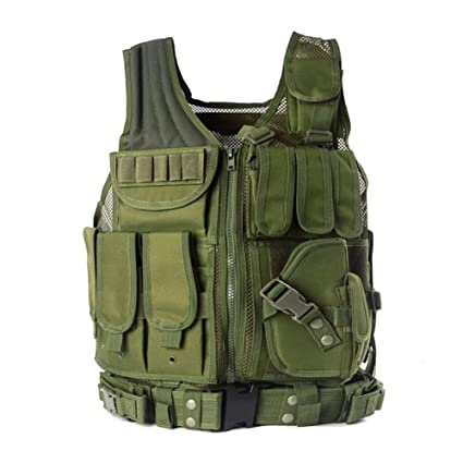 d8d2b4eb941c3 Yakeda Army Fans Tactical Vest Cs Field Outdoor Equipment Supplies  Breathable Lightweight Tactical Vest Swat Tactical