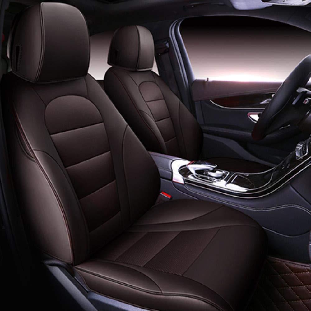 Negro Nombre del Color HIZH Cubierta De Asiento De Coche para Audi A3 8P Sportback 8L A4 A6 A5 Q5 Q7 Q3 Accesorios Cubiertas para El Asiento del Veh/íCulo