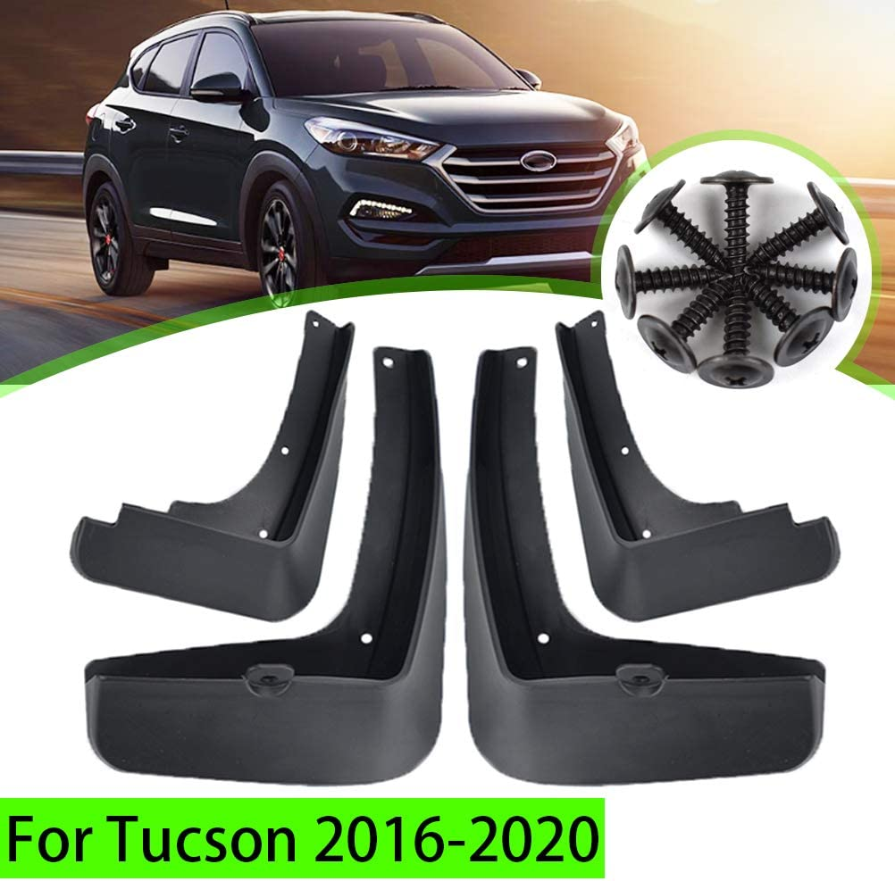 A-Premium Mud Flaps Splash Guards for Hyundai Tucson 2011-2015 Front and Rear 4-PC
