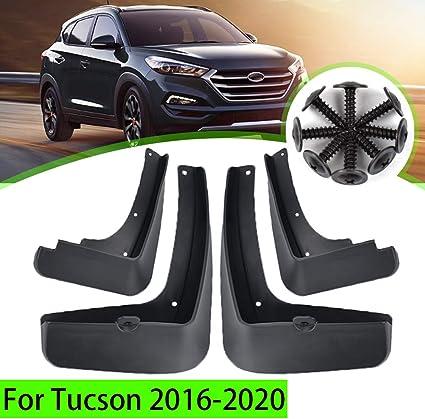 Caucho Moldeado Ajuste Universal Coche mudflaps MUD FLAPS se ajusta Hyundai Santa Fe