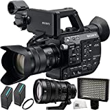 Sony PXW-FS5 XDCAM Super 35 Camera System with Sony E PZ 18-105mm f/4 G OSS Lens & Sony FE PZ 28-135mm f/4 G OSS Lens + 5PC Accessory Kit
