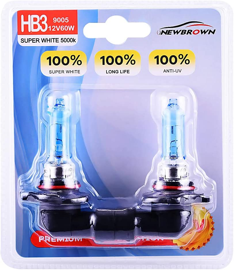 H3 Luminics Headlight Bulb White 6000K Xenon Halogen 55W Lot of 10pcs