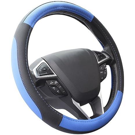 Amazon.com: Funda de volante SEG Direct piel de microfibra ...