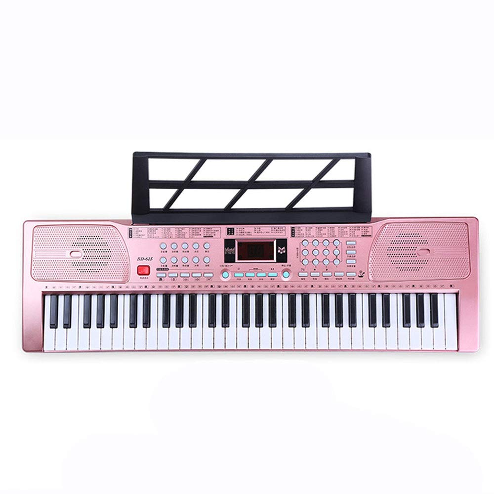 Foot Pedal Electronic Piano Blanket Puzzle Birthday Gift Music Toy Crawling Mat 0515A (Color : Rose Gold)