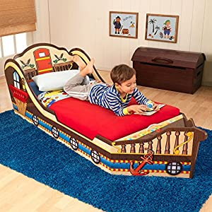 KidKraft Pirate Toddler Bed – 86928