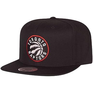 Mitchell & Ness Mujeres Gorras/Gorra Snapback Wool Solid NBA Toronto Raptors: Amazon.es: Ropa y accesorios