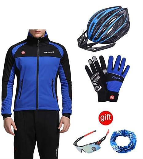 YDQXTZ Windproof Hombres Ciclismo Chaqueta Impermeable Ropa De ...