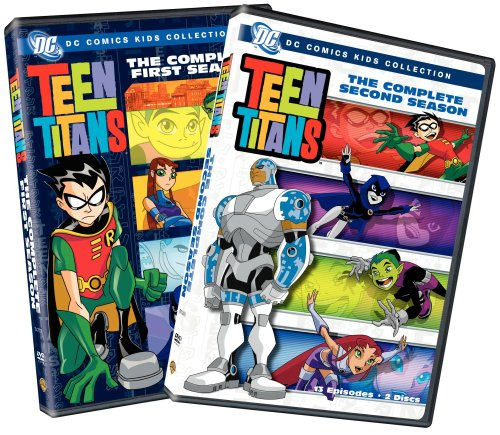 Teen Titans - The Complete First and Second Seasons (DC Comics Kids Collection)