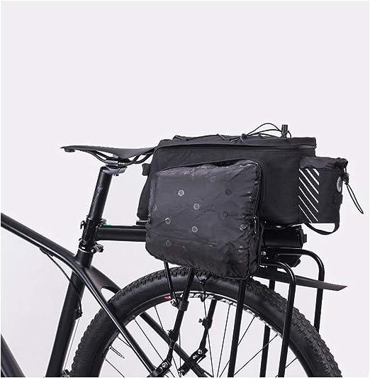 SKTWOE Bolsa de Bicicleta, Bolsa de Marco Trasero para Bicicleta ...