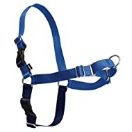 PetSafe Easy Walk Dog Harness, No Pull Dog Harness, Royal Blue/Navy Blue, Medium