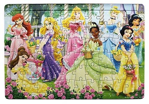Disney Princess Sparkly Dresses Group Portrait Jigsaw Puzzle (60pc) Disney Princess Portrait