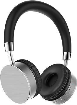 Amazon Com Otium Bluetooth Headphones On Ear Wireless Headset W Mic Soft Memory Protein Earmuffs Wired Wireless Headphones Compatible Cell Phone Tv Pc Electronics