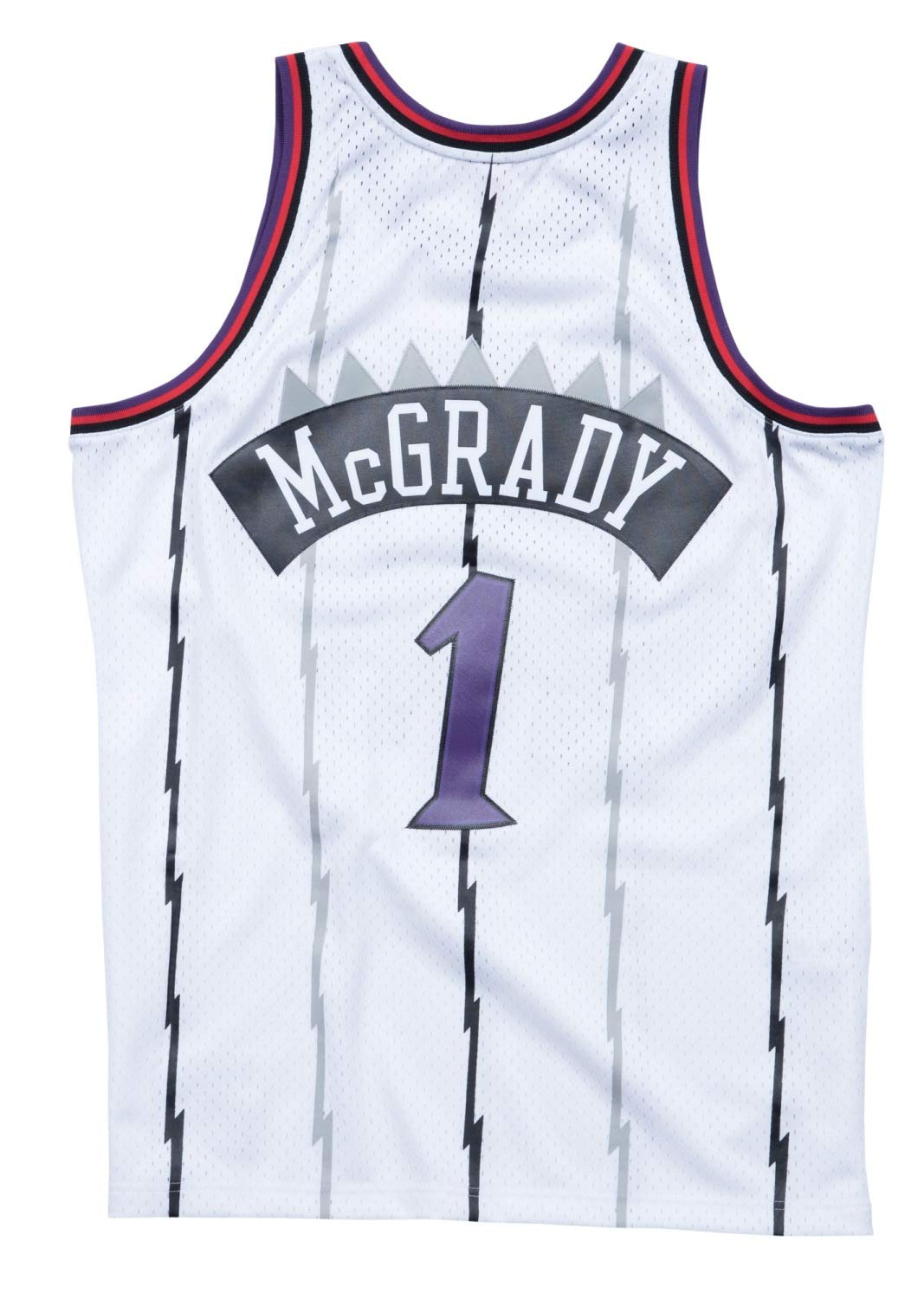 a8e67c3ae99 Amazon.com   Mitchell   Ness Tracy McGrady Toronto Raptors NBA Swingman  98-99 Jersey - White   Clothing