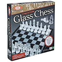 Ideal Checkmate Glass Chess Set