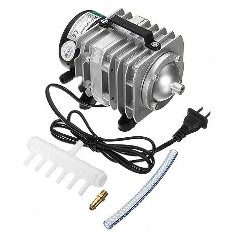 MYAMIA Bomba De Aire del Compresor De Aire Electromagnético Portable De 45W 220V 70L/Min