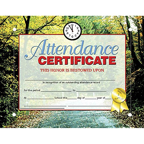 (Attendance Certificate (Set of 30))