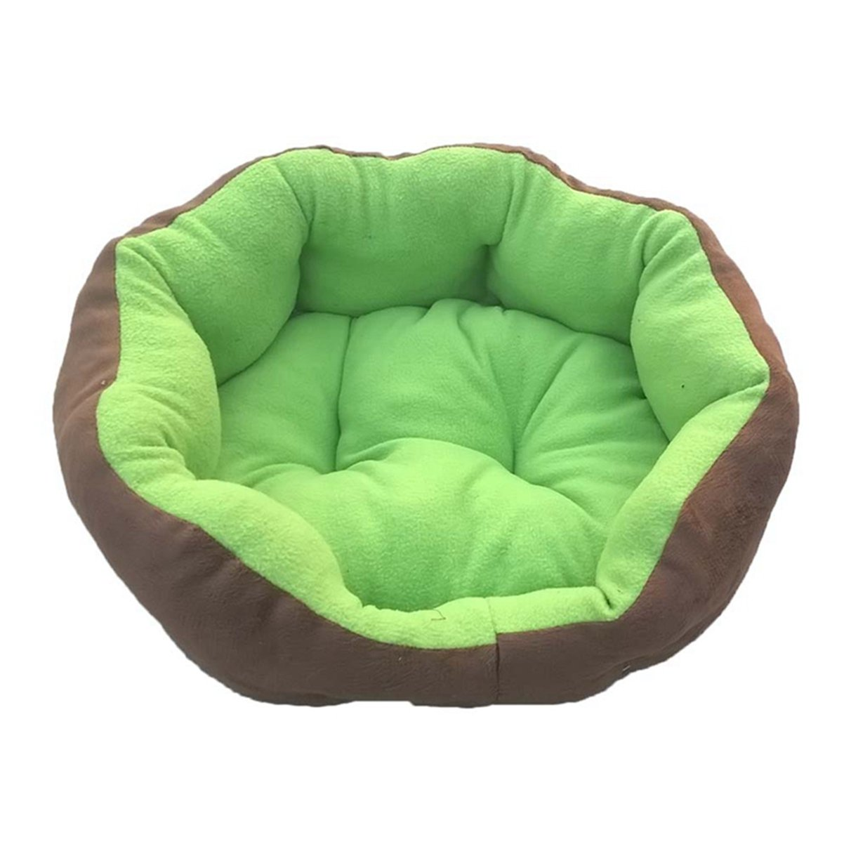 Green S Green S Pet Dog Bed Winter Warm Kitten Kennels Thick Soft Pet Nest Cat Sofa Puppy Mat Animals Pad Pet Supplies House for Small Large Dogs