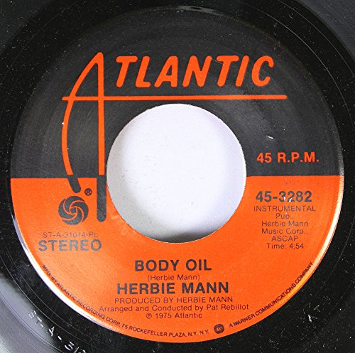 Price comparison product image Herbie Mann 45 RPM Body Oil / Waterbed