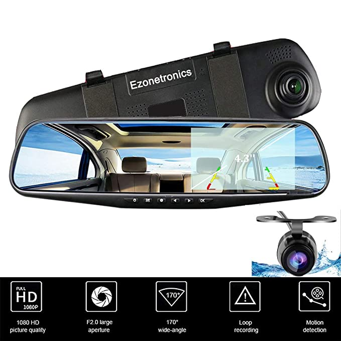 Amazon Com Ezonetronics Car Camera Car Video Recorder Full Hd