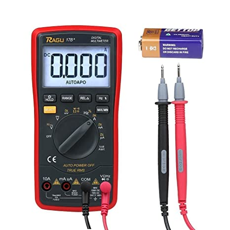 Review RAGU 17B Digital Multimeter