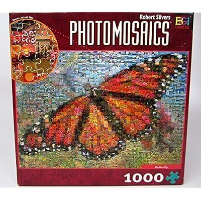 Photomosaics Butterfly Puzzle 1000 27 X 20 By Photomosaics