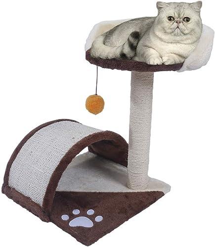 chiluer Sisal Cat Climb Cat Tabby Cat Tree Cat Toy Cat Furniture Cat Scratch Board Scratch Post Cat Nest Stool Pet Comfortable Houe Multi-Size Multi-Color