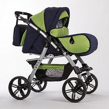 Kinderwagen all inclusive Paket in 38 tollen Farben 15 teiliges Qualit/äts-Kinderwagenset 2 in 1 CITY DRIVER Buggy