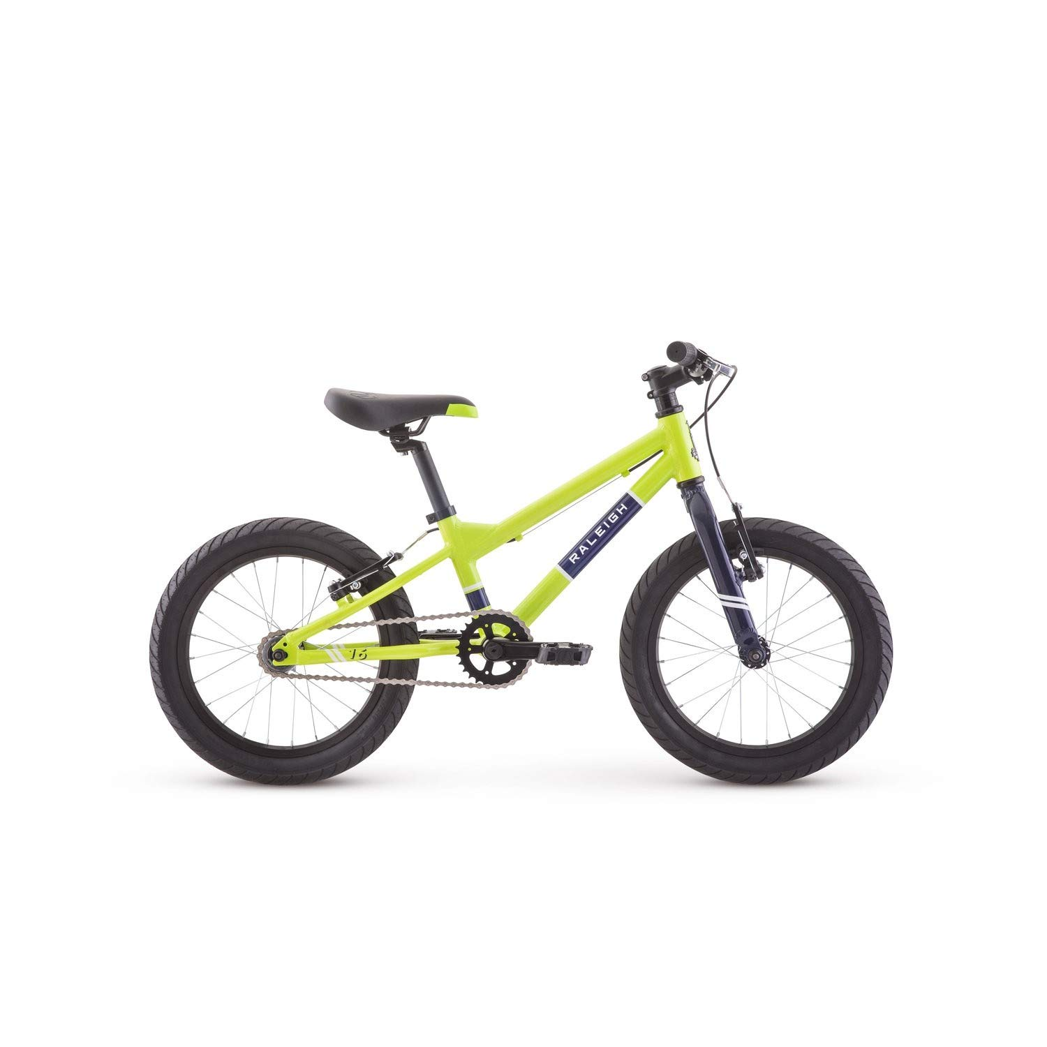RALEIGH Bikes Rowdy 16 Kids Bike for Boys Youth 3-6 Years Old, Green