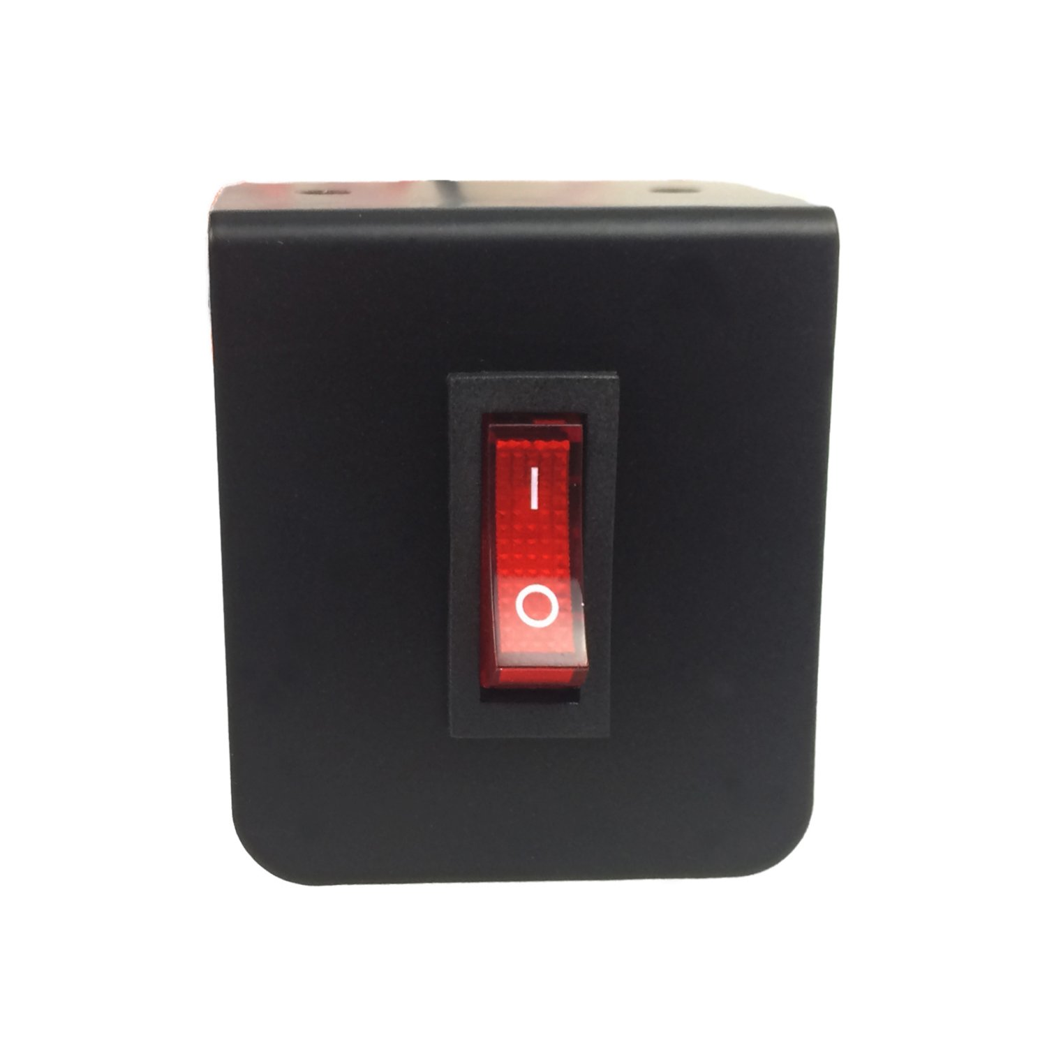 Abrams Taurus Premium 12V Switch Box Panel - (4) ON/OFF Rocker Switch with LED Light & (1) Momentary Switch Plate - 2 x 15 Amp Inline Fuse - Dimensions: 5.74'L x 2.2'H x 1.57'D