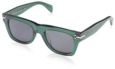 Amazon.com: Céline cl41038 – Gafas de sol de la mujer, verde ...