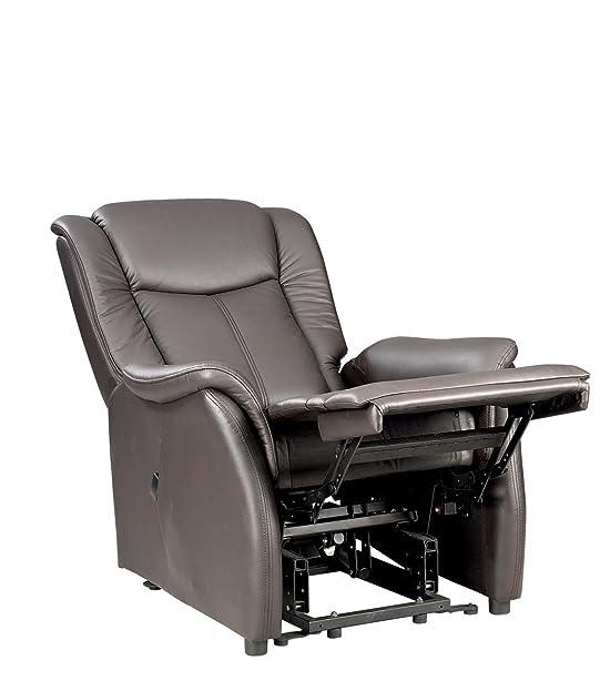 Fernsehsessel XL Braun Leder Relaxsessel TV Sessel Mit Aufstehhilfe 2  Motoren Günstig