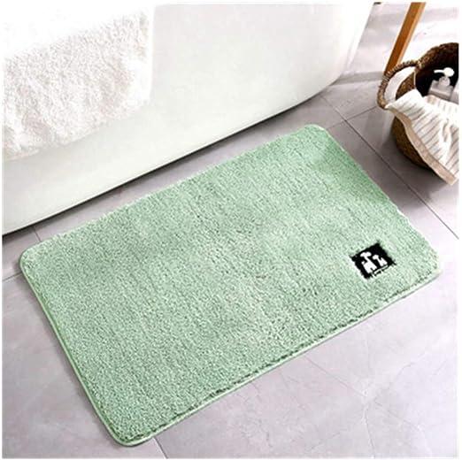 LUOTINGRUI Alfombras de baño de algodón de Microfibra Absorbente en la Alfombra en el tapete de la Puerta: Amazon.es: Hogar