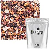 Tealyra - Sweet Berry Compote - Hibiscus - Cherry - Raspbery - Herbal Fruity Loose leaf Tea - Vitamins Rich - Hot and Iced - Caffeine-Free - 112g (4-ounce)