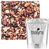 Cheap Tealyra – Sweet Berry Compote – Hibiscus – Cherry – Raspbery – Herbal Fruity Loose leaf Tea – Vitamins Rich – Hot and Iced – Caffeine-Free – 112g (4-ounce)