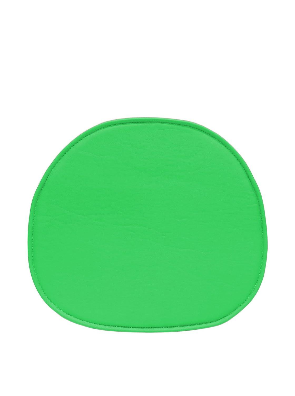 ARYANA HOME Cojín Silla Eames réplica, Piel sintética, Verde, 40x36