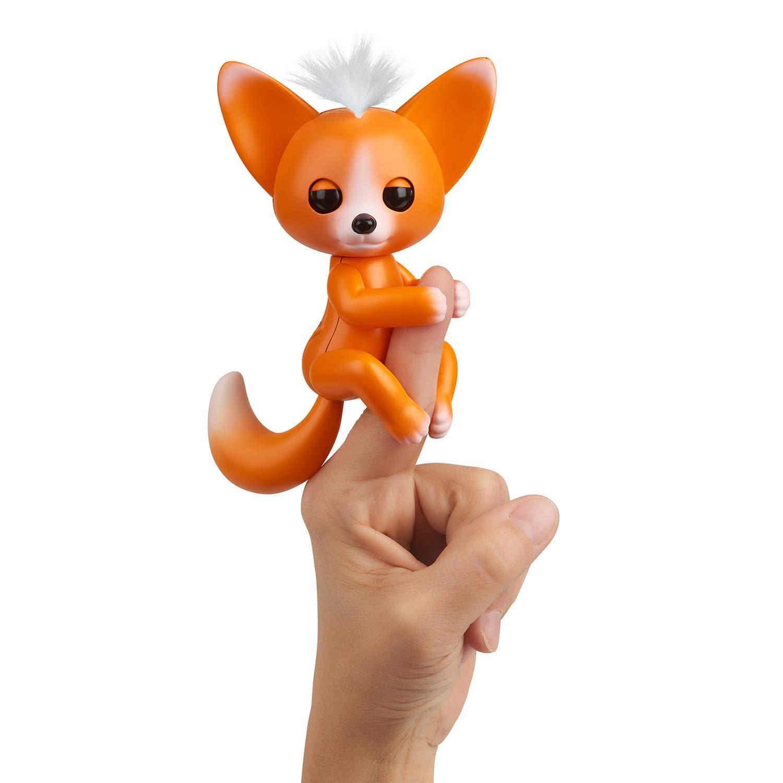 WowWee Fingerlings - Interactive Baby Fox - Mikey (Orange) 771171135715