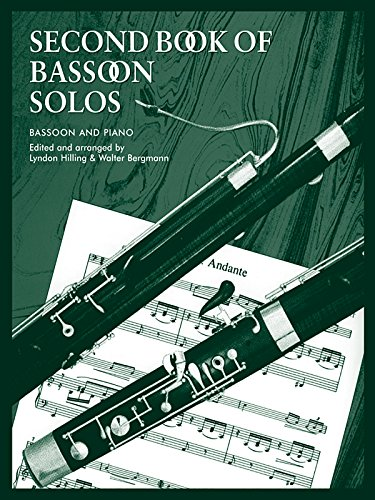Second Book of Bassoon Solos (Faber Edition)