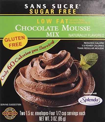 sugar free chocolate mousse - 2