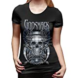 Godsmack When Legends Rise Woman Crop Top Female Bare Midriff Short Sleeves Top