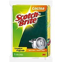 Scotch-Brite 3M Fibra Esponja, tamaño Chico